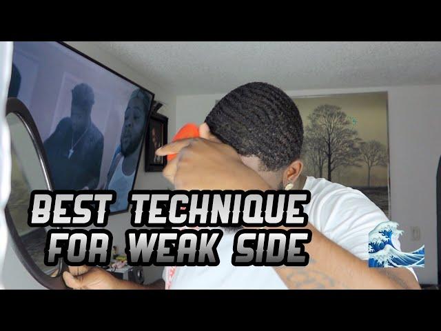 Best Technique For Your Weak Side 540/360 Waves 🌊