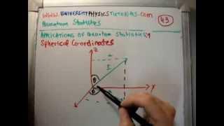 Quantum Statistics 43 : Spherical Polar Coordinates