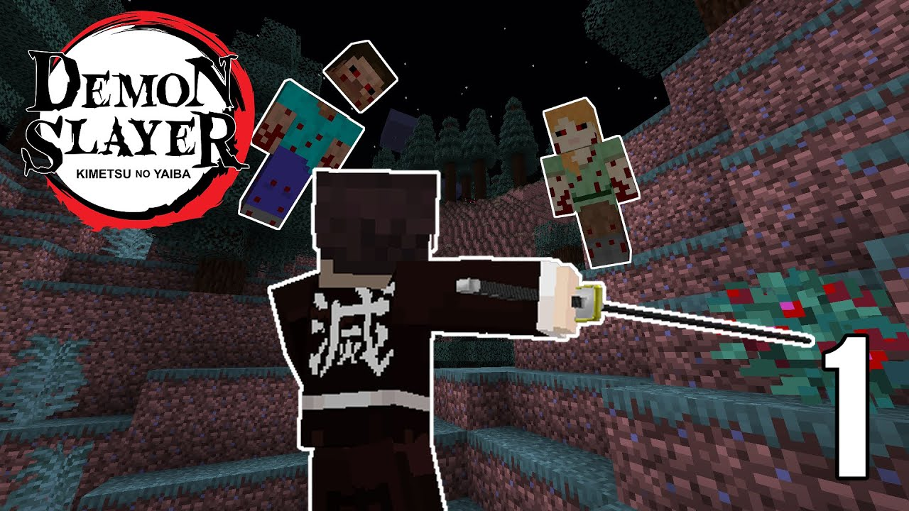 Download the latest version of demon slayer for android. Becoming A Demon Slayer In Minecraft Demon Slayer Minecraft Mod 1 Youtube