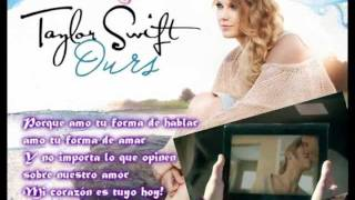 Taylor Swift - Ours (Spanish Cover)