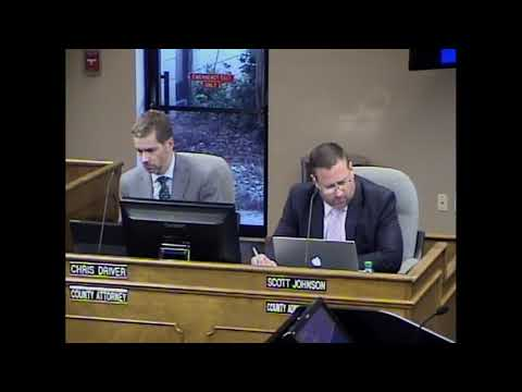 2017 October 17 Commissioners Meeting