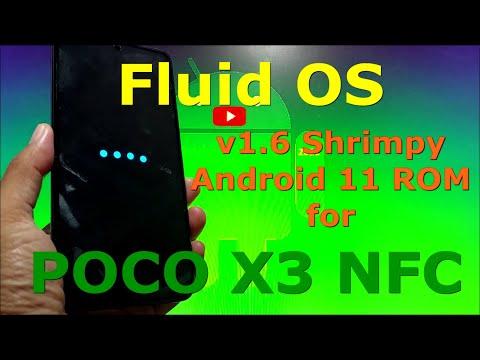 Fluid OS v1.6 Android 11 for Poco X3 NFC (Surya)
