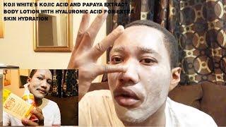 Koji White: Papaya and Kojic Acid Skin Lightening Body Lotion