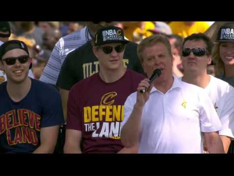 Cleveland Cavaliers 2016 Championship Parade Team Speeches (FULL)