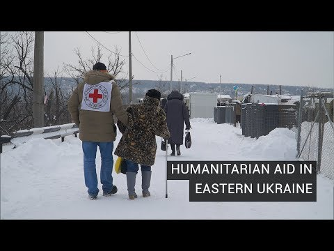In East Ukraine, Locals and Aid Agencies Struggle Through War's Fourth Year