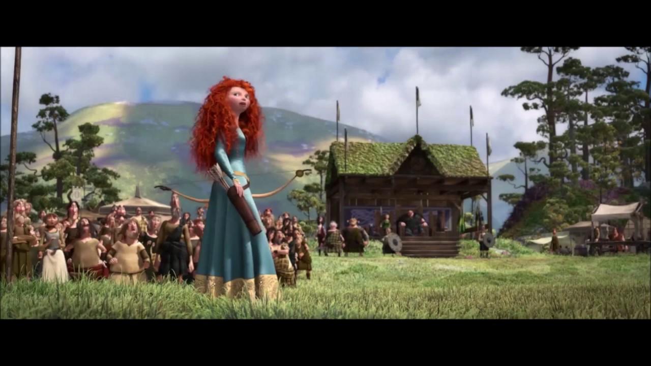 Download Animated Movies Scenes - Brave Movie Archery Scene