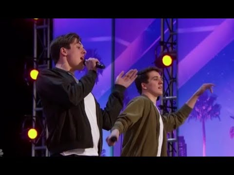America's Most TALENTED Twins! The Edward Brothers on America's Got Talent 2017