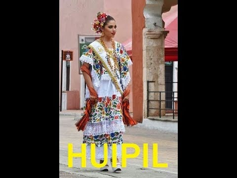 e50fe8cad8 ROPA DE YUCATÁN  GUAYABERA Y HUIPILES - YouTube