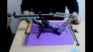 видео Как определить угол заточки ножа: особенности