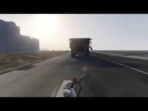 GTA 5 ONLINE HIPSTER SLIDE STUNT ( NO CREATOR MODE)