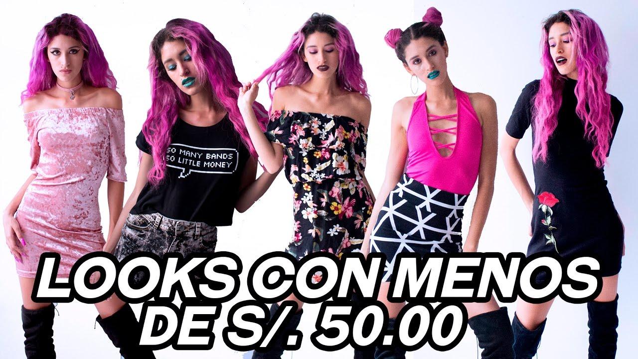 09beb181aa8b5 Looks con menos S .50.00 soles en Gamarra (chicas y chicos) - YouTube