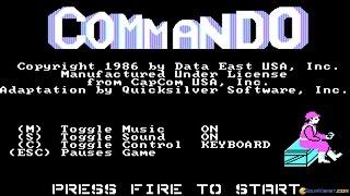 Commando gameplay (PC Game, 1987)