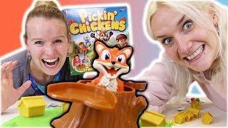 FUCHS DU HAST DAS HUHN GESTOHLEN - NINA VS KATHI Pickin Chickens Challenge