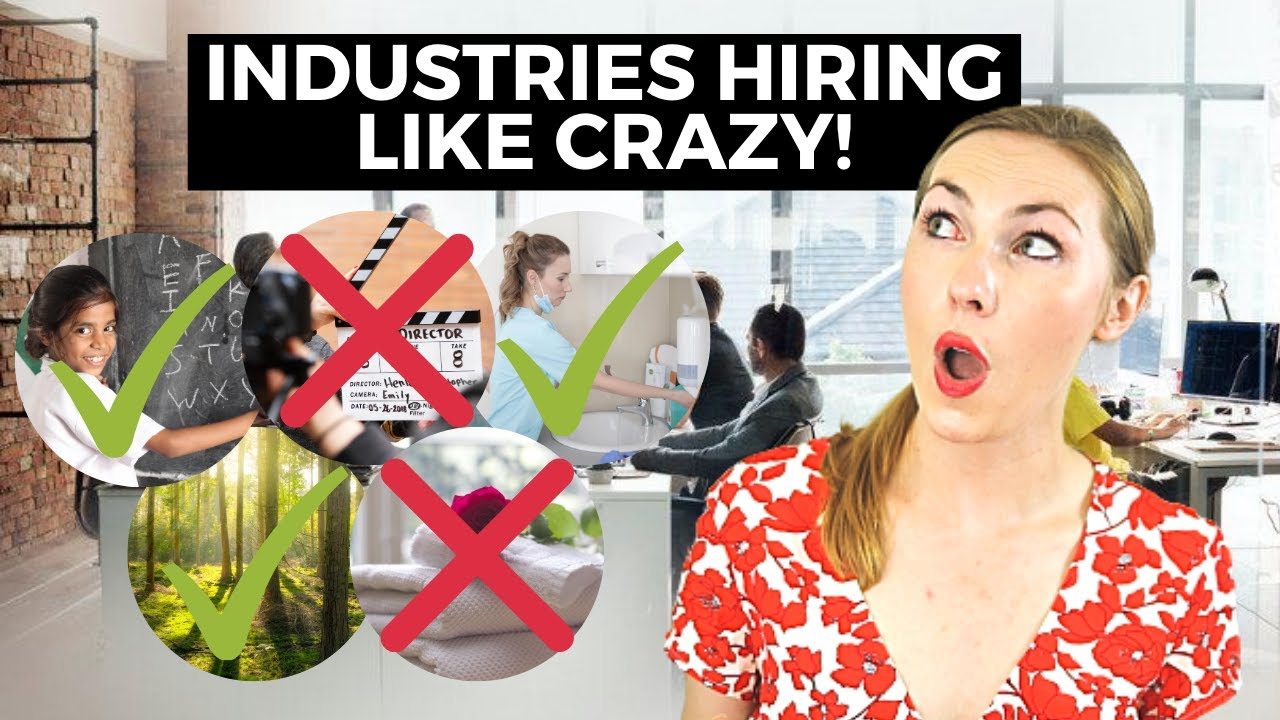 Top 5 Industries with In-demand Careers That Are Hiring Right Now (Which is Best for You?)