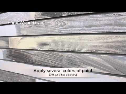 Faux Wood Grain Texture