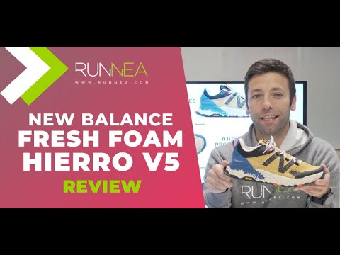 New Balance Fresh Foam Hierro V5 Review: La zapatilla superventas de trail running