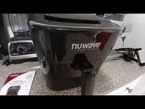 NuWave 6 qt Brio Healthy Digital Air Fryer-  Brand New model, My First Impression