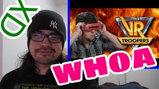 Pothead Reacts 2 VR Troopers - JonTron LIVE
