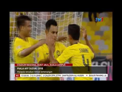 N5 - PIALA AFF SUZUKI 2018 - MALAYSIA TERUSKAN RENTAK KEMENANGAN [13 NOV 2018]