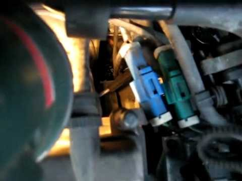 Location of engine number Ford 1,8 Duratec - YouTube