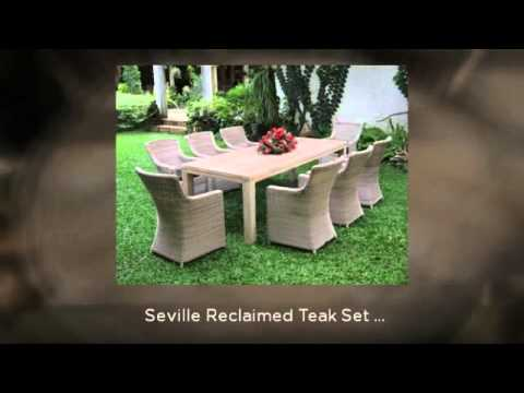 Teak Furniture Sets from The Garden Furniture Centre.