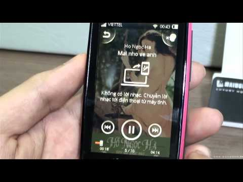 Sony Ericsson Mix Walkman Unboxing and Review - www.mainguyen.vn