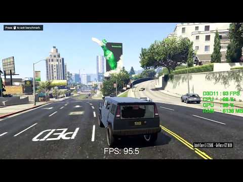 Geforce Gt Gta Gt1030 Gta Benchmarks And Gameplay