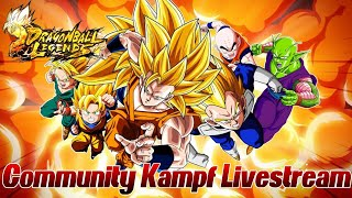Dragon Ball Legends Community Stream! :D Kämpft gegen mich ;) | Dragon Ball Legends Deutsch