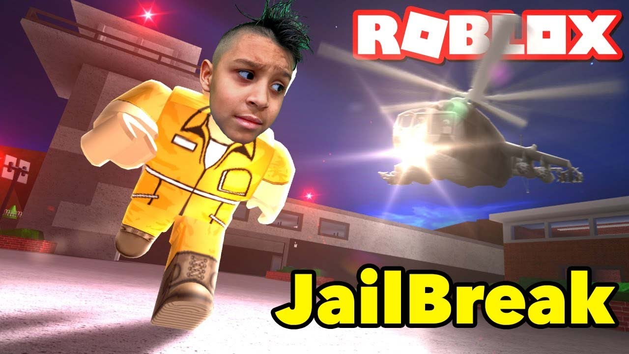 JAILBREAK on ROBLOX | DEION'S PLAYTIME