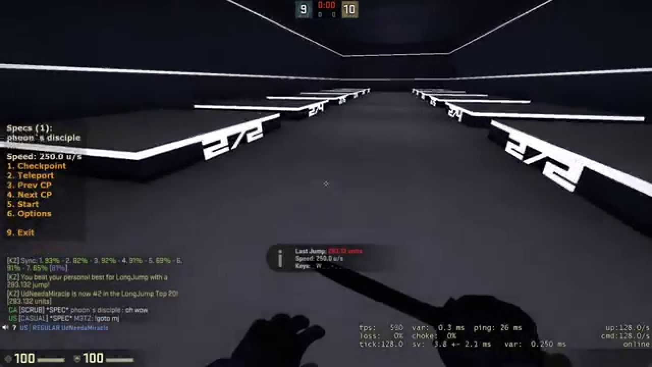 Csgo 283 13 Unit Longjump 7 Strafes With Crouch Bind By Udneedamiracle Youtube
