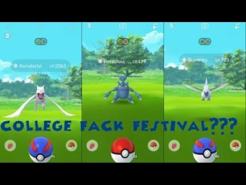 Pokemon Go Fest Failed - Grant Park Chicago Rare catches 2XHeracross + more!!