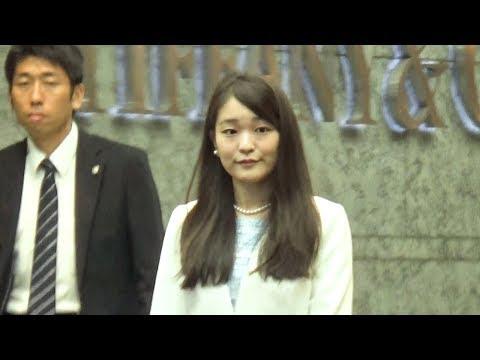眞子さま、お忍びで日本橋三越に