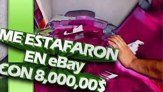 me estafaron en Ebay con $8,000.00|