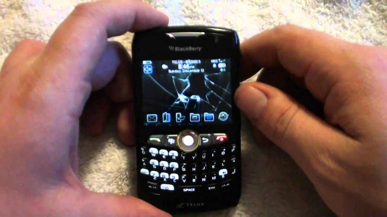 How to...Blackberry IT policy detection and removal on used phone