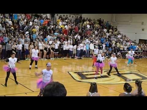 East Davidson High School Pep Rally Football Dance