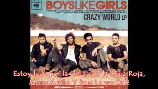 Red Cup Hands Up Long Brown Hair - Boys Like Girls (Subtitulado al Español)