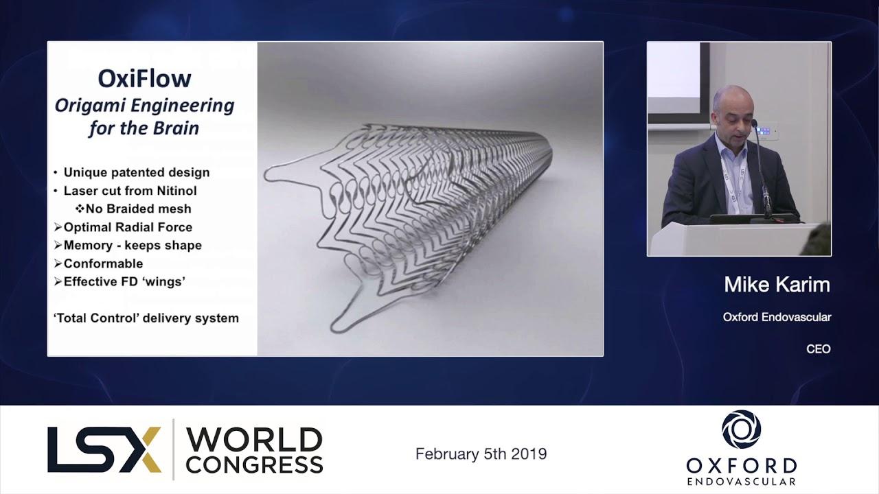 LSX World Congress 2019 - Showcase - Oxford Endovascular