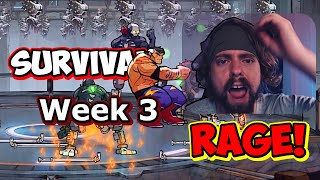 Streets of Rage 4 - Max Survival - Week 3 by Anthopants