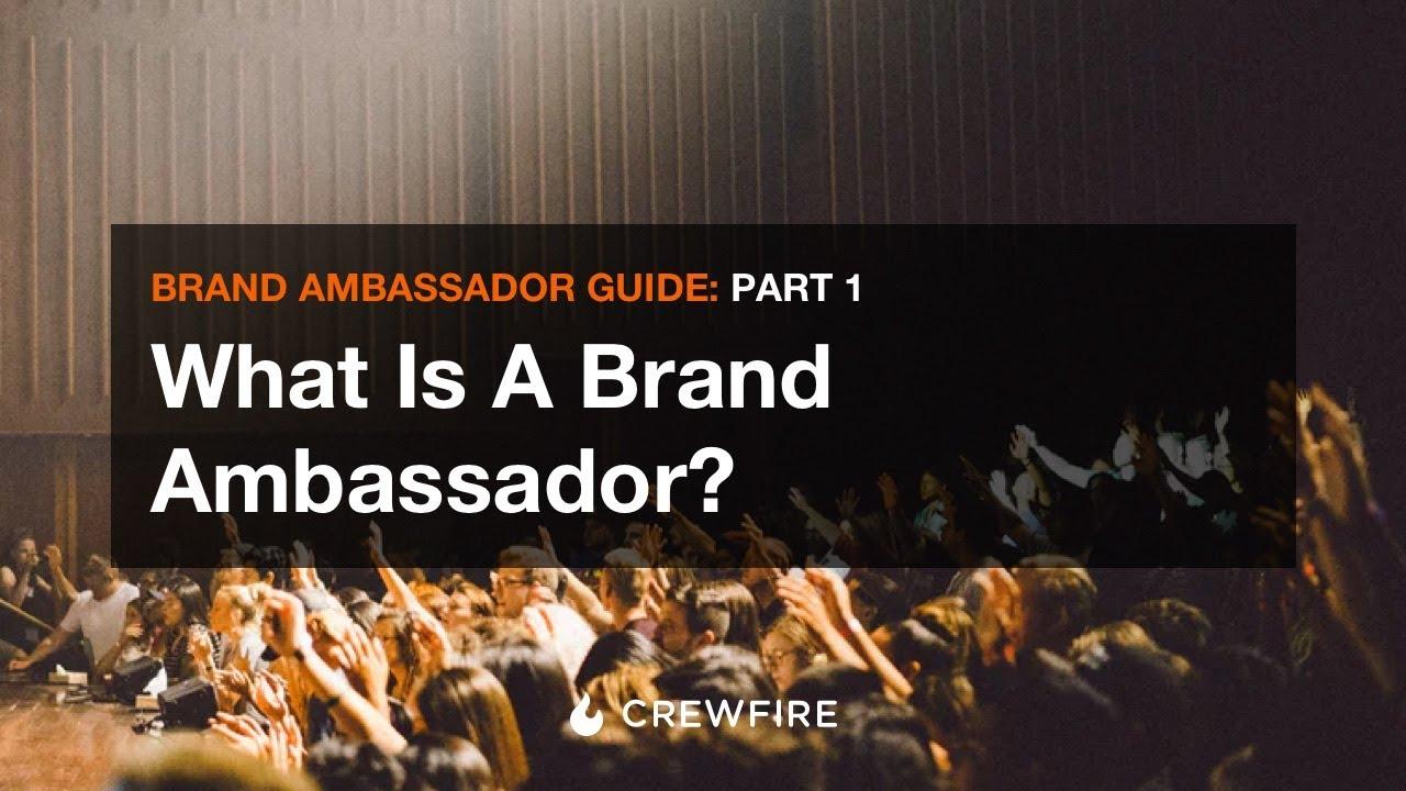 whats a brand ambassador