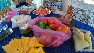 День из жизни / В гостях на даче / Шашлык / Day of life / Visiting the dacha / Shish kebab