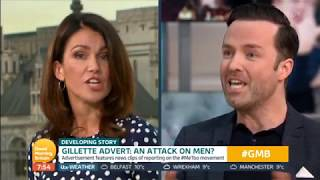 Gillette Advert: Piers Morgan & Peter Lloyd vs. Susanna Reid & Harriet Minter [Part 2]