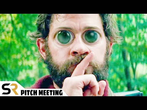 A Quiet Place Pitch Meeting