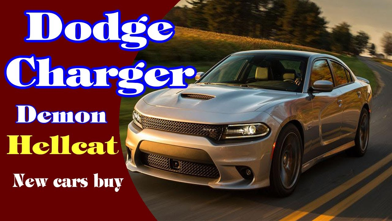 Dodge Charger Demon >> 2018 Dodge Charger Demon 2018 Dodge Charger Demon Edition 2018