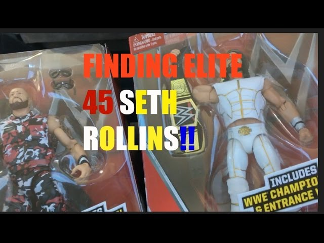6 35 Mb Wwe Action Figure Toy Hunt At Toys R Us Finding Elite 45