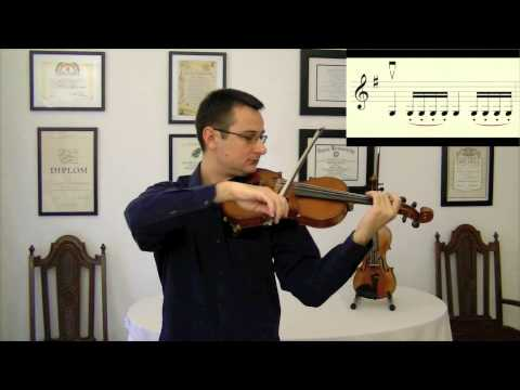 The Practicing Companion   How to Practice Scales on Violin   Two Octaves, One Position
