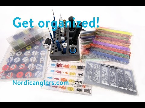 Get Your Flytying Organized