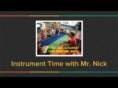 preschool music activities with instruments: Rhythm Sounds