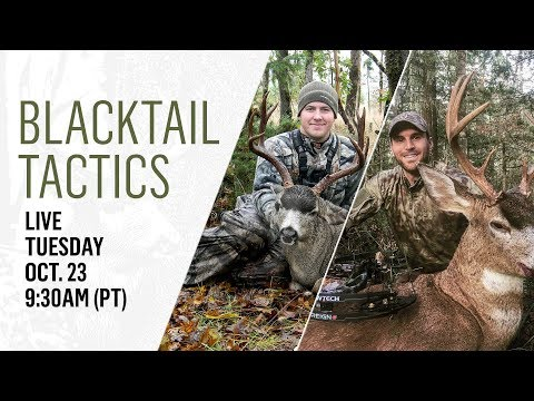 Blacktail Tactics - Oct. 23, 2018