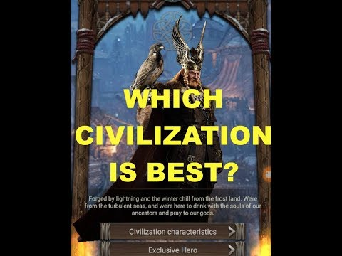 Clash Of Kings : WHICH CIVILIZATION IS THE BEST?