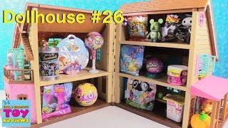 Blind Bag Dollhouse #26 Unboxing LOL Surprise Pets Trolls Pikmi Pops Disney   PSToyReviews